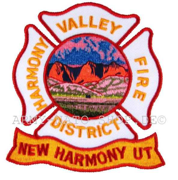 US Abzeichen Firefighter - New Harmony Ut