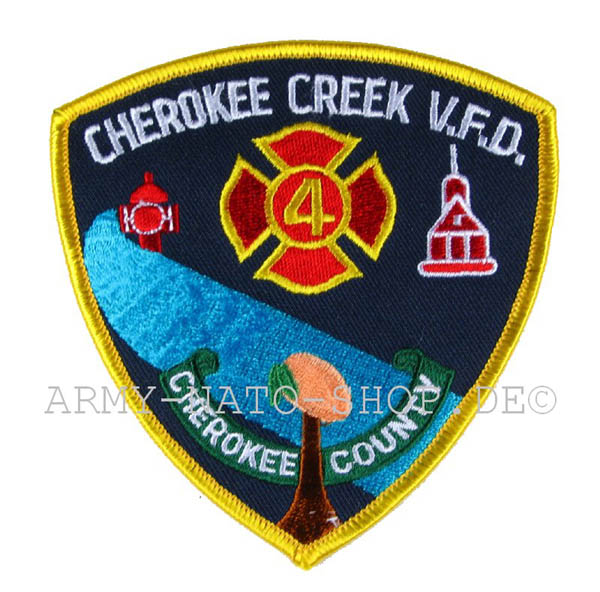 US Abzeichen Firefighter - Cherokee Creek