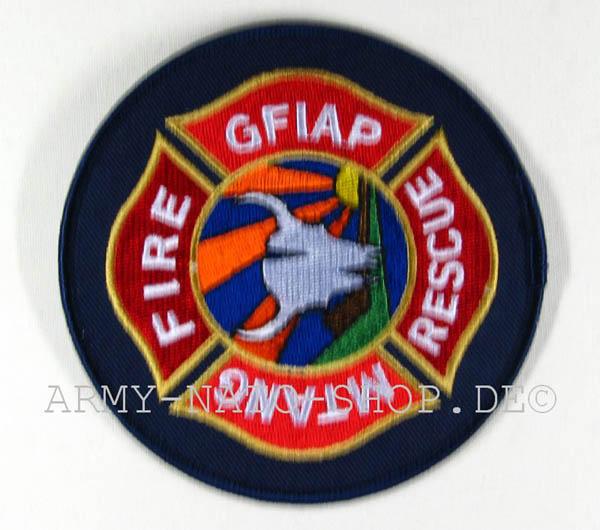 US Abzeichen Firefighter - Gfiap Mtang