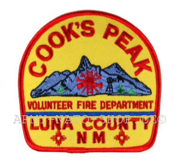 US Abzeichen Firefighter - Cook's Peak