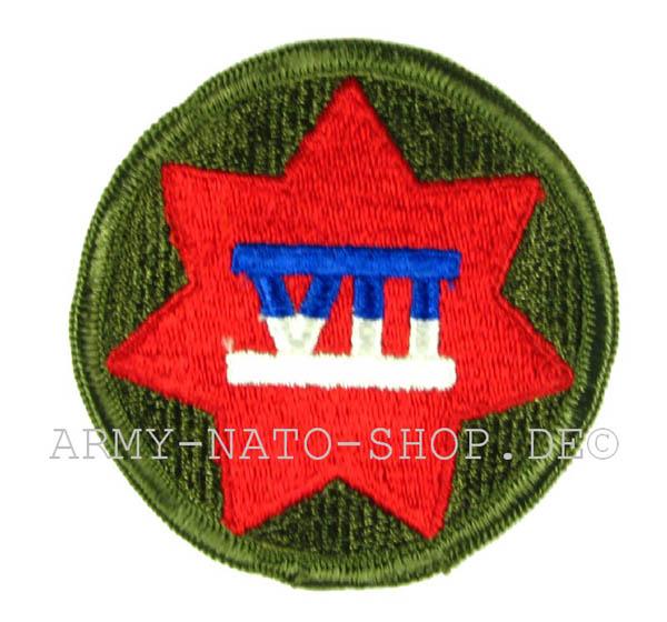 U.S. Army Abzeichen Siebte Cops