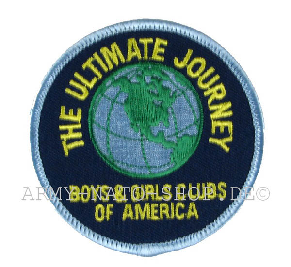 US ABZEICHEN THE ULTIMATE JOURNEY
