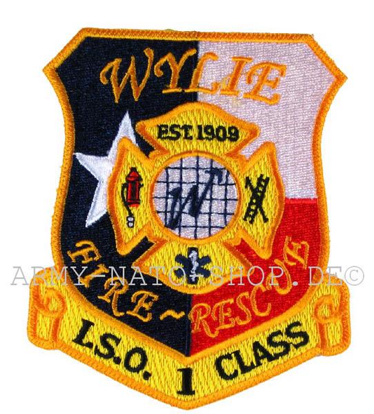 US Abzeichen Firefighter - Wylie 1909