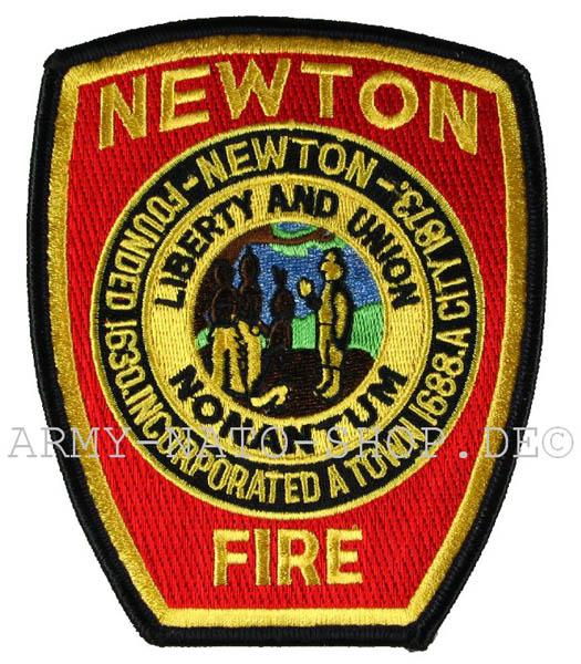 US Abzeichen Firefighter - Newton