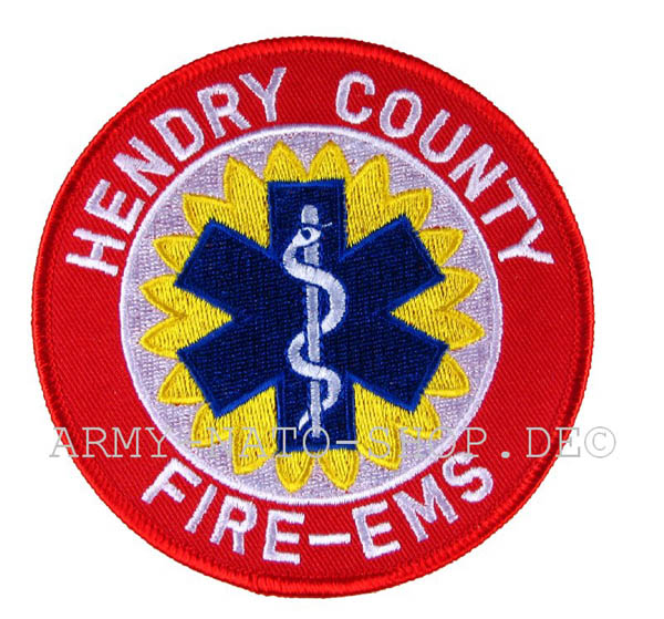 US Abzeichen Firefighter - Hendry County