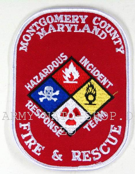 US Feuerwehr Abzeichen - Montgomery County Maryland