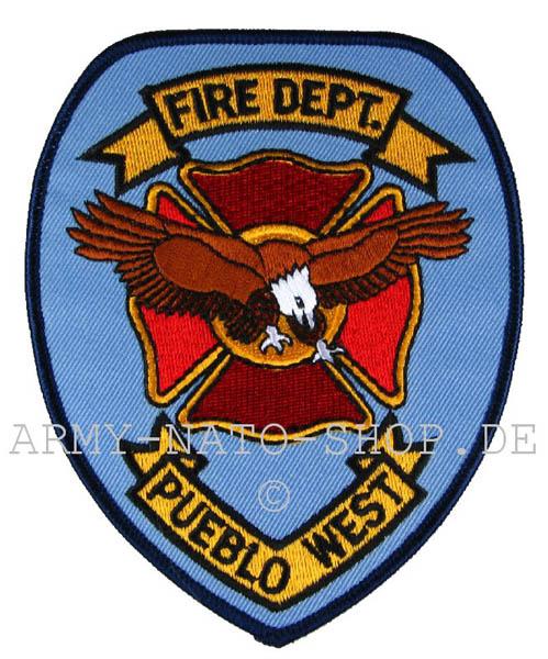 US Abzeichen Firefighter - Pueblo West