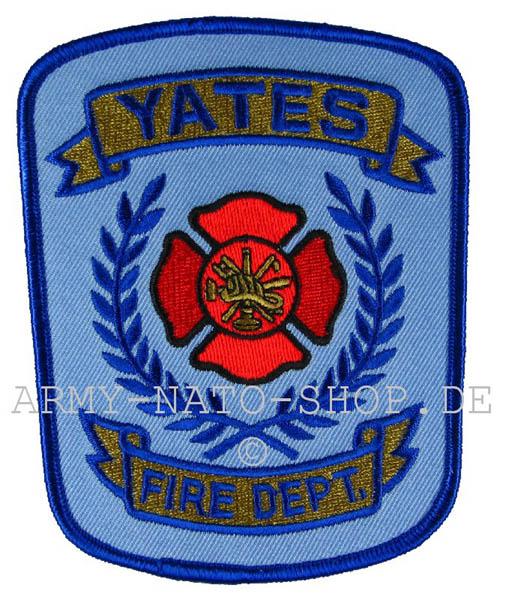 US Abzeichen Firefighter - Yates