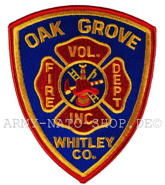US Abzeichen Firefighter - Oak Grove