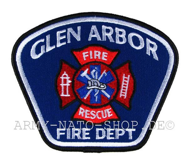US Abzeichen Firefighter - Glen Arbor