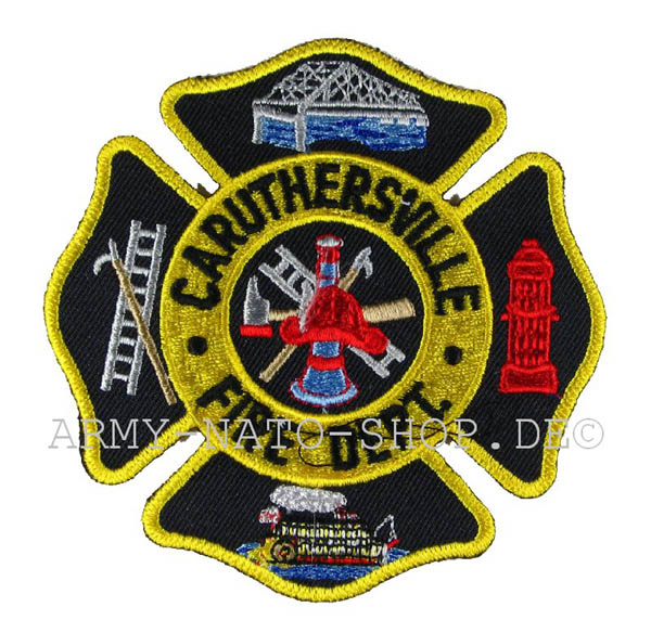 US Abzeichen Firefighter - Caruthersville