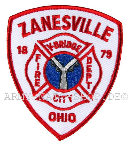 US Abzeichen Firefighter - Zanesville 1879 Ohio