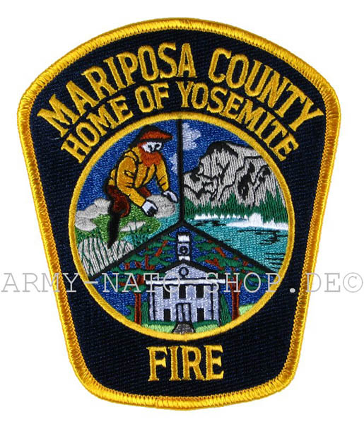 US Abzeichen Firefighter - Mariposa County