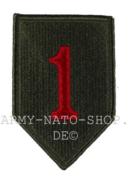 U.S. Army Abzeichen Erste Us-Army Division