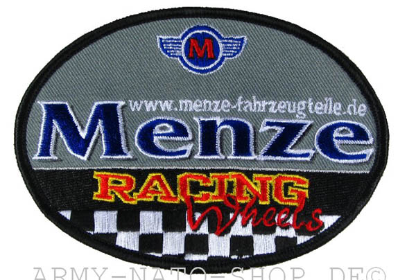 Aufnäher MENZE RACING WHEELS