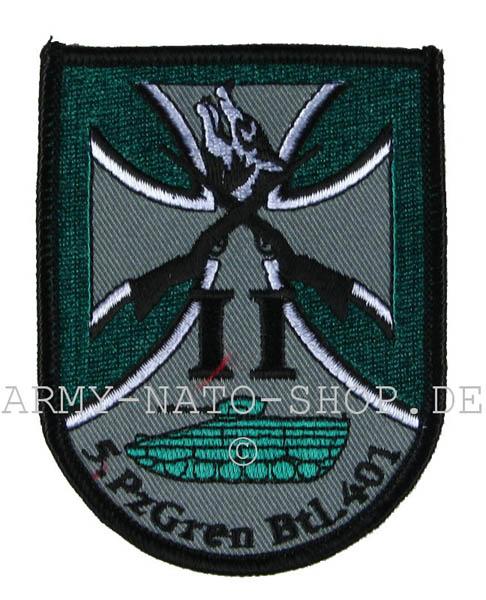 Abzeichen,Bundeswehr 5.PZGREN BTL 401