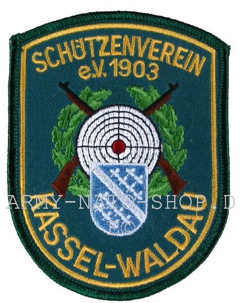 Aufnäher,Schützenverein Kassel-Waldau