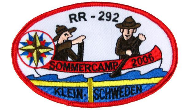 Aufnäher  SOMMERCAMP 2006 KLEINSCHWEDEN