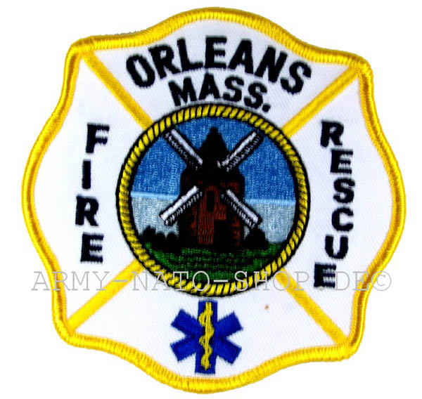 US Abzeichen Firefighter - Orleans mass.
