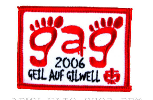 Aufnäher, Geil Auf Gilwell