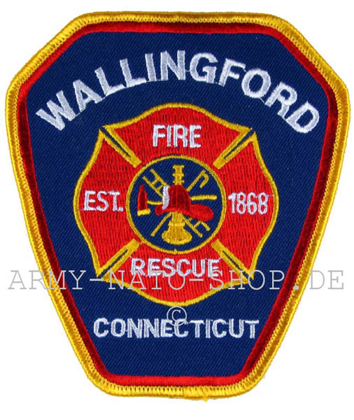 US Abzeichen Firefighter - Wallingford
