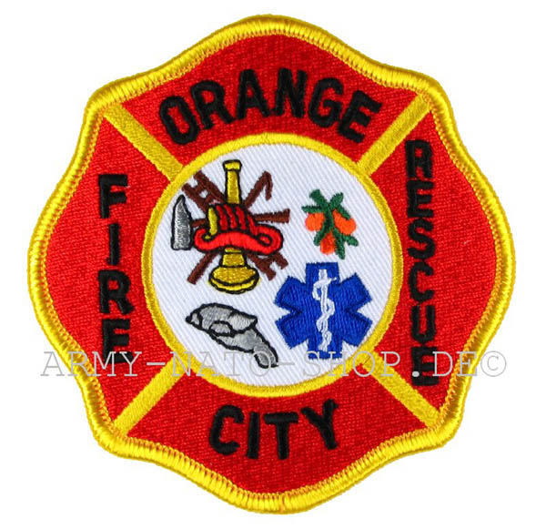 US Abzeichen Firefighter - Orange City