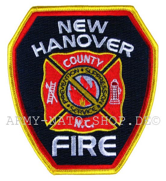 US Abzeichen Firefighter - New Hanover