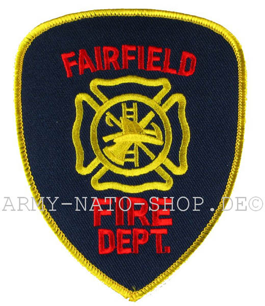 US Abzeichen Firefighter - Fairfield