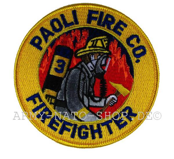 US Abzeichen Firefighter - Paoli Fire Co.