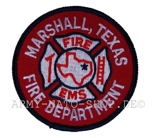 US Abzeichen Firefighter - Marshall Texas