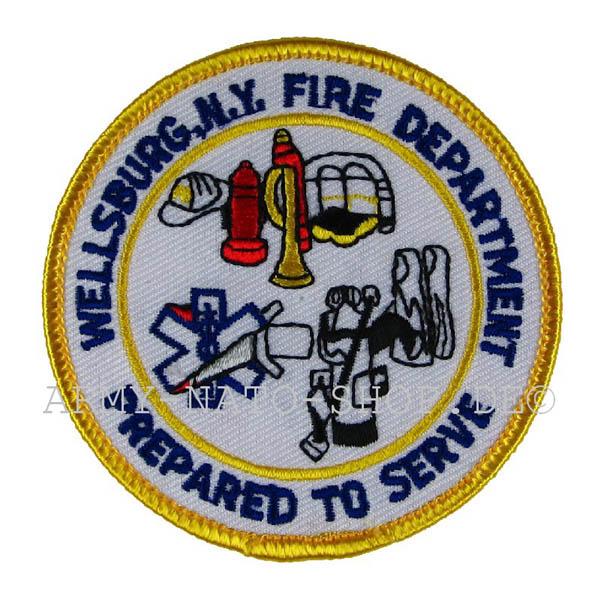 US Wellsburg N.Y fire Department
