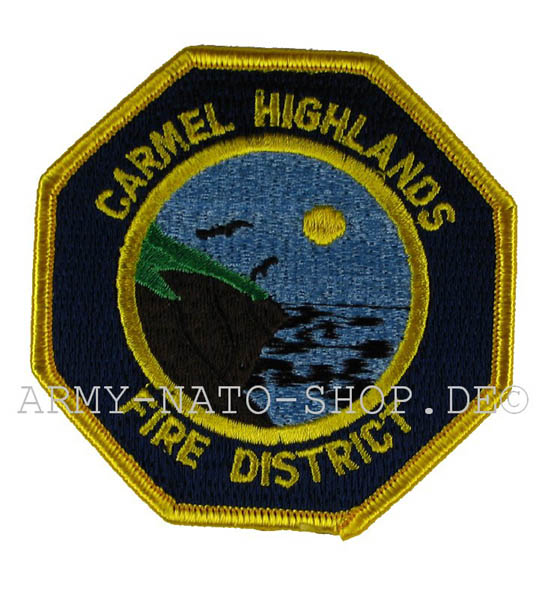 US Abzeichen Firefighter - Carmel Highlands