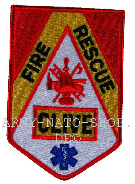 US Abzeichen Firefighter - Clive