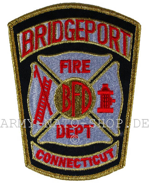 US Abzeichen Firefighter - Bridgebort