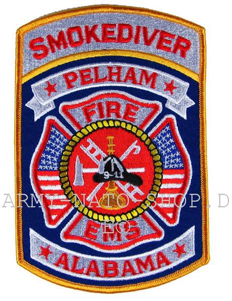 US Abzeichen Firefighter - Smokediver Pelham