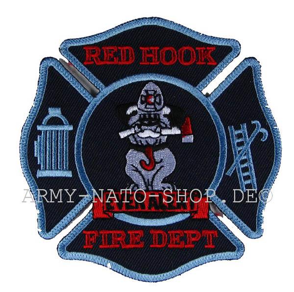 US Abzeichen Firefighter - Red Hook