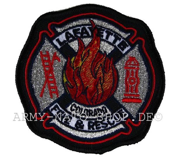 US Abzeichen Firefighter - Lafayette