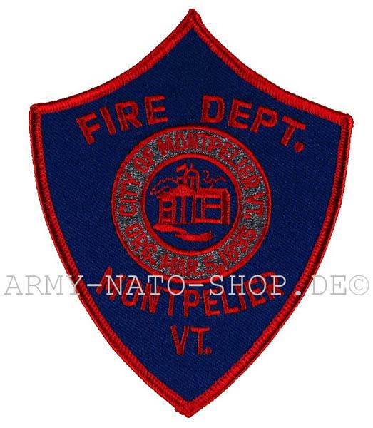 US Abzeichen Firefighter - Montpelier