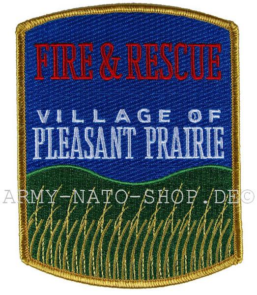 US Abzeichen Firefighter - Village of Pleasant Prairie
