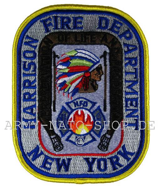 US Abzeichen Firefighter - New York Harrisson