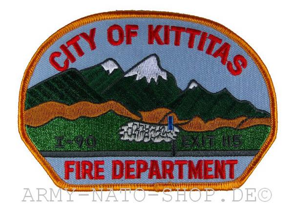 US Abzeichen Firefighter - City of Kittitas