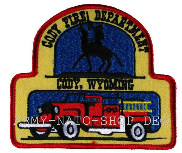 US Abzeichen Firefighter - Cody Wyoming