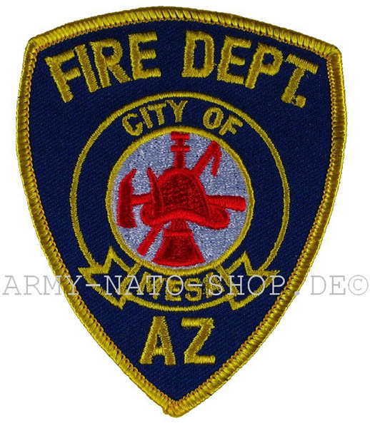 US Abzeichen Firefighter - City of Mesa
