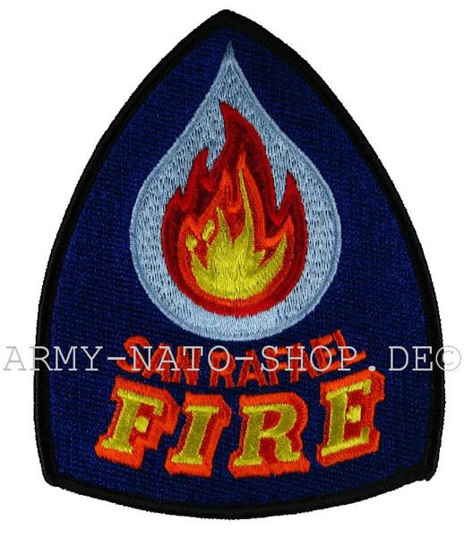 Army Shop Us Feuerwehr Abzeichen San Rafael