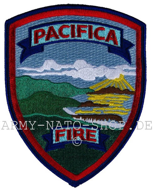 US Abzeichen Firefighter - Pacifica