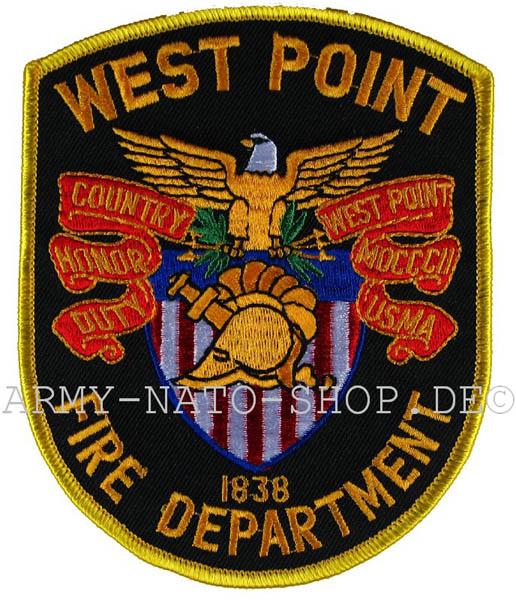 US Abzeichen Firefighter - West Point 1838