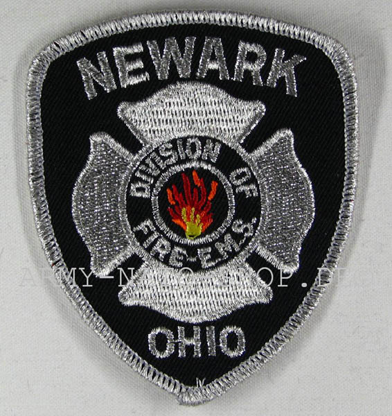 US Abzeichen Firefighter - Newark Ohio