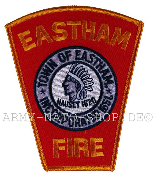 US Abzeichen Firefighter - Town of Eastham