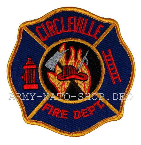US Abzeichen Firefighter - Circleville