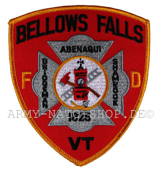 US Abzeichen Firefighter  - Bellows Falls 1825